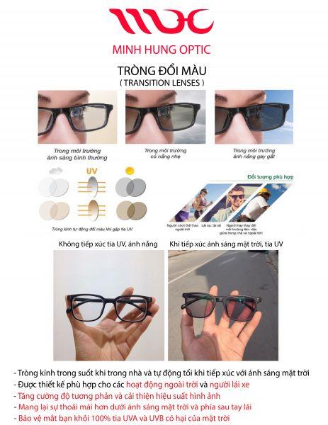 Tròng đổi màu có độ, mắt kính phan thiết, tiệm kính phan thiết